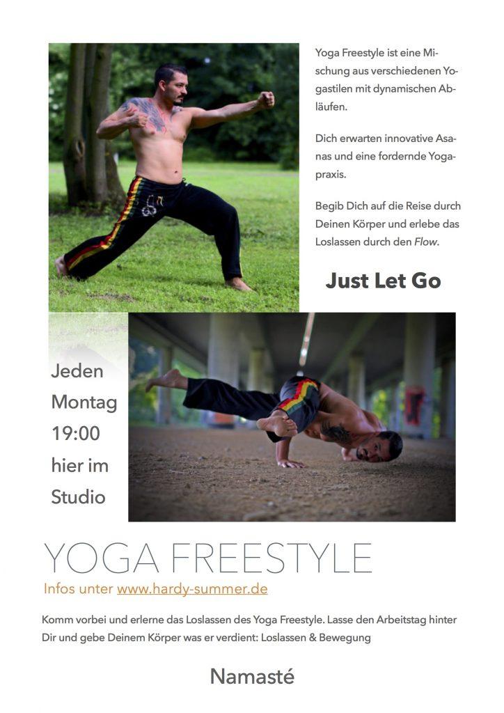 Flyer Yoga Freestyle Fit&Fun bild